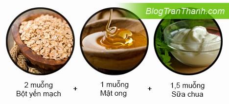 Công thức làm mặt nạ bột yến mạch dành cho da dầu / da hỗn hợp