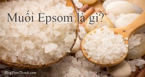 Muối Epsom là gì