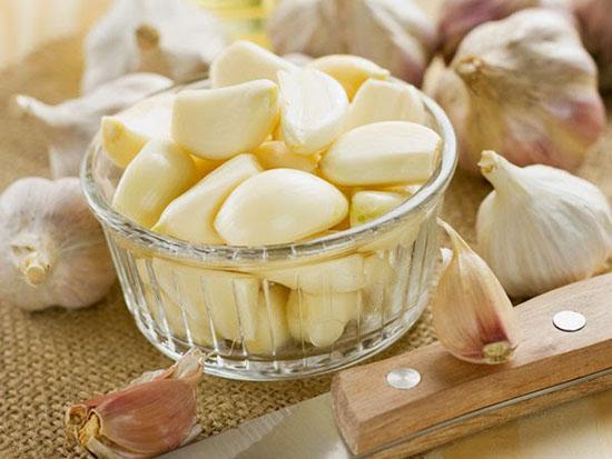 Thực phẩm bổ sung collagen - Tỏi