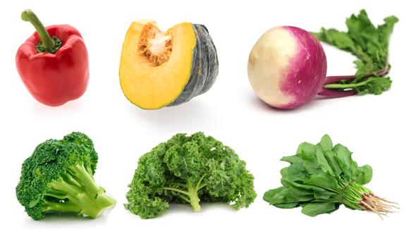 Thực phẩm bổ sung collagen - Nguồn Vitamin C trong rau củ