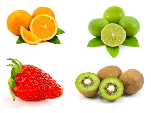 TThực phẩm bổ sung collagen - Nguồn Vitamin C trong trái cây